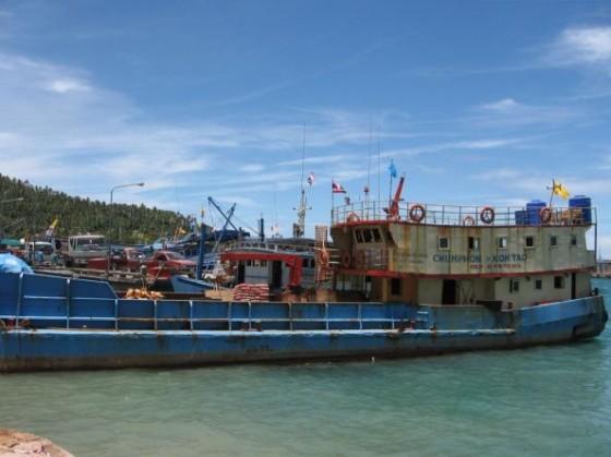 Fähre von Chumpon nach Koh Tao