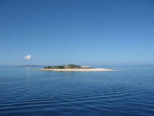 Eine sehr kleine Insel in der Südsee