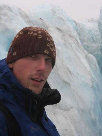 Ich auf Gletschertour