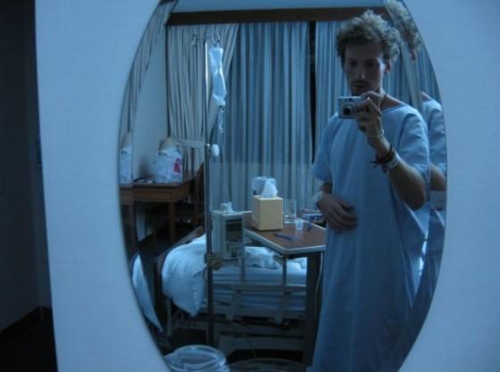 Ich in der Deluxe Suite im Mount Elizabeth Krankenhaus, Singapur