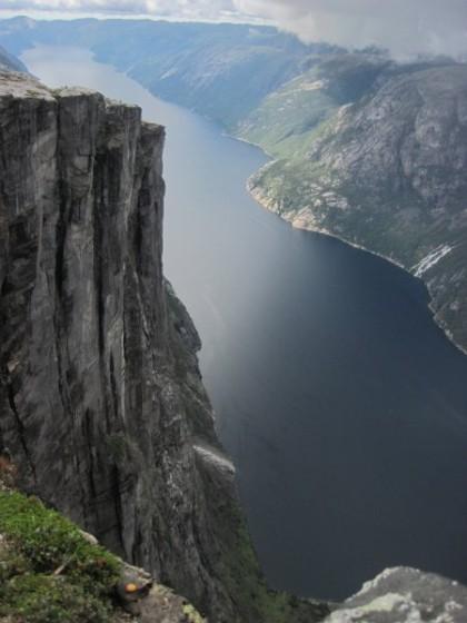 Blick in den Fjord