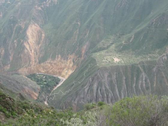 Terassen im Colca Canyon