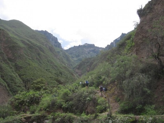 Trekking durch den Colca Canyon