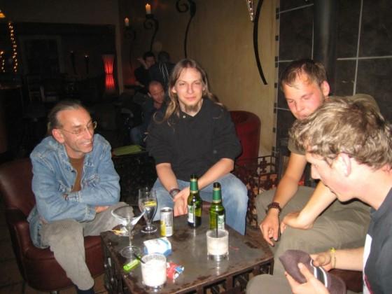vlnr. Heinz, Felix, Valentin und ich