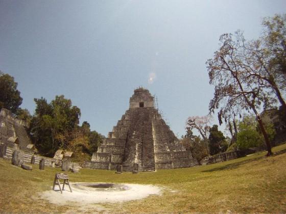 Anderer Temple auf dem Gran Plaza