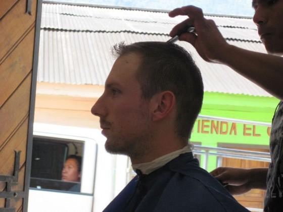 Ach ja, beim Barbier war ich auch