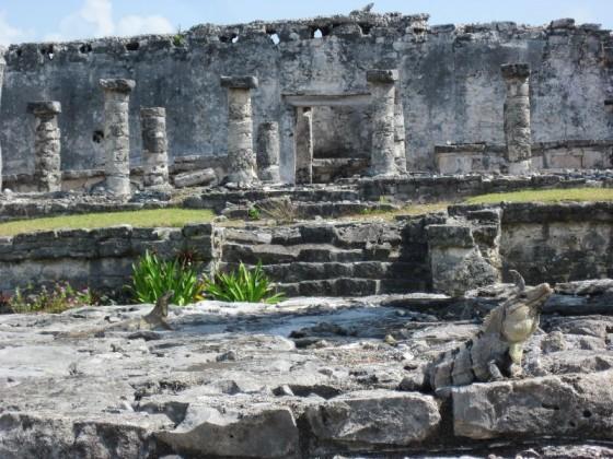 Ruinen in Tulum