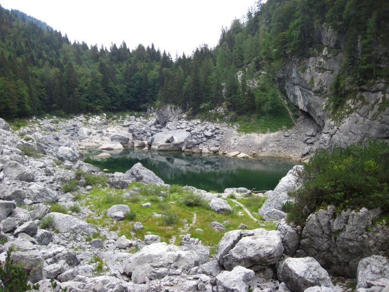 Zwischenstopp Crno Jezero (Schwarzer See)