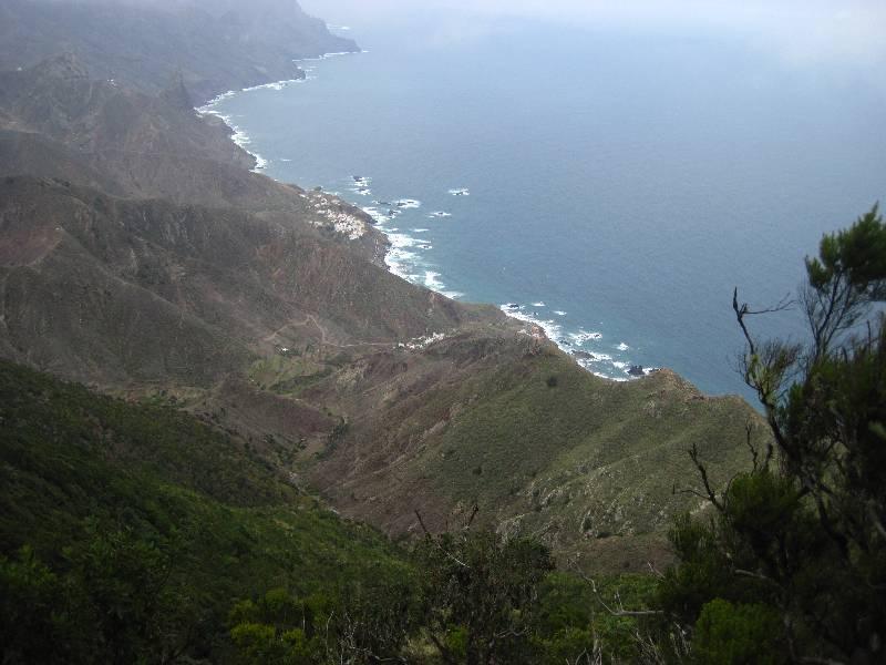 Ausblick von Anaga-Gebirge