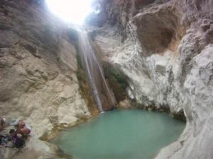 Dimoussari Wasserfall